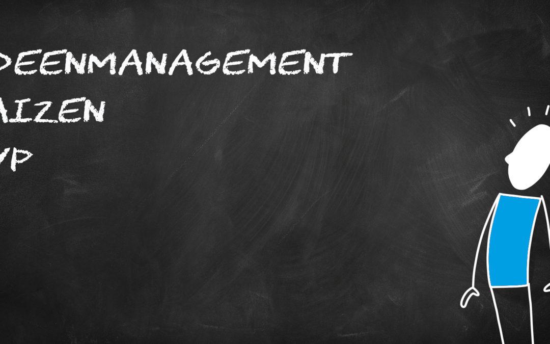 Begriffe Ideenmanagement – Kaizen – KVP