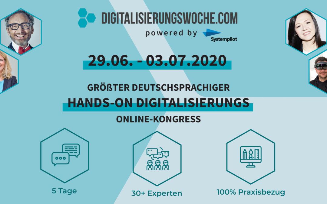 Gratisticket für die Digitalisierungwoche